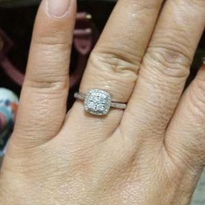 Ss 925 diamond ring